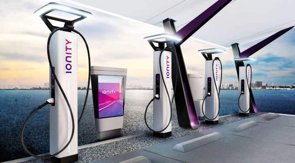 Ionity Rapid Chargers
